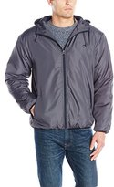 Avia Men's Microfleece-Lined Water Repellant Windbreaker Jacket