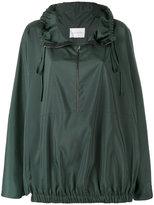 Calcaterra - classic pullover raincoat - women - Polyester - 40
