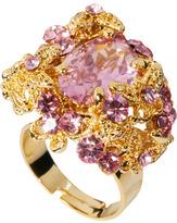 Talullah Tu Crystal Baroque Cocktail Ring