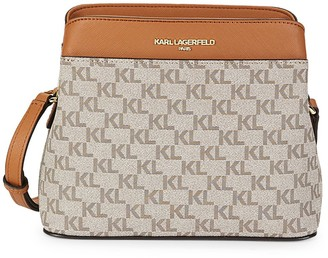 Karl Lagerfeld Paris Adjustable Crossbody Bag