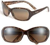 Maui Jim Women's 'Pearl City' 63Mm Sunglasses - Black