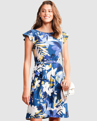 SACHA DRAKE - Women's Blue Dresses - Happy Days Dress - Size One Size, 12 at The Iconic
