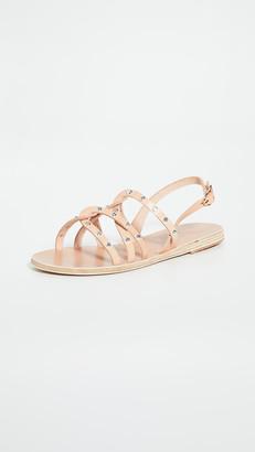 Ancient Greek Sandals Schinousa Rivets Sandals
