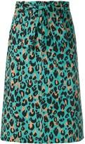 Nk Gisa animal print skirt