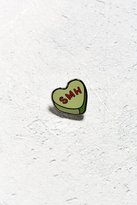 Urban Outfitters Heart SMH Pin