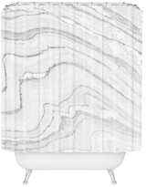 DENY Designs Fresh Marble Shower Curtain