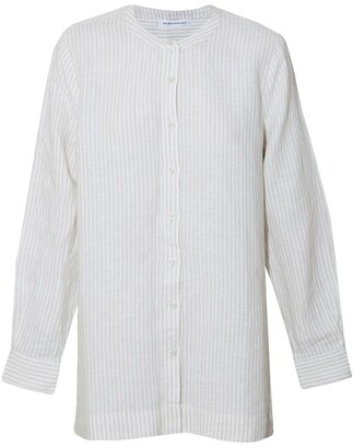 Skin and Threads Linen Oversized Shirt