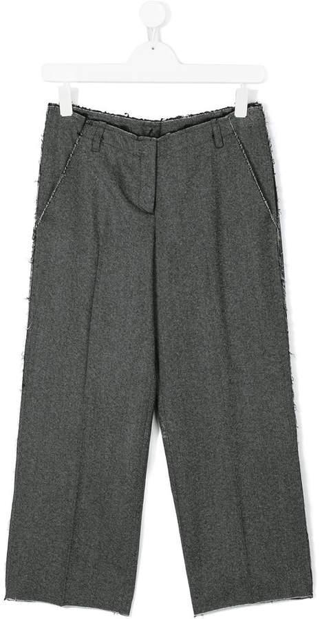 Dondup Kids wide leg trousers