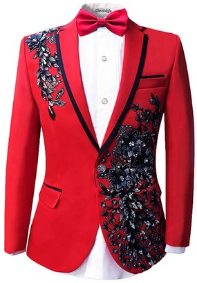 Red Suit Jacket Men Shop The World S Largest Collection Of Fashion Shopstyle Uk