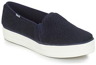 Keds TRIPLE DECKER FAUX SHEARLING women's Slip-ons (Shoes) in multicolour