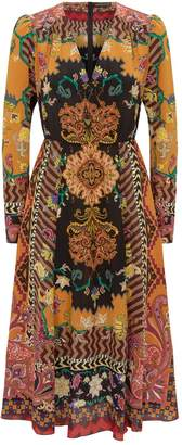 Etro Silk Patchwork Dress