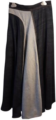 Lanvin Blue Denim - Jeans Skirt for Women