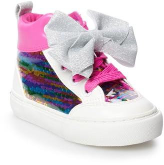 Jo-Jo JoJo Siwa Rainbow Sequin Toddler Girls' High Top Shoes