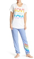 Junk Food Clothing Rainbow Stripes Lounge Pants