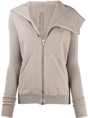 Rick Owens Long Sleeve Zipped Sweater
