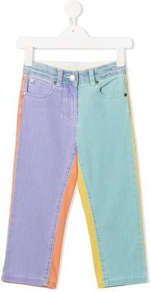 Stella Mccartney Kids Heart Patch Jeans