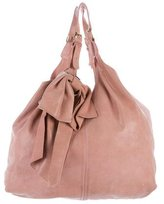 RED Valentino Embossed Leather Large Hobo