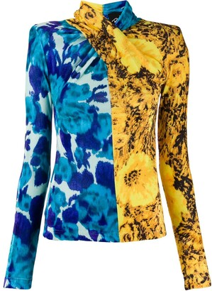 Richard Quinn Sunflower Twisted Top