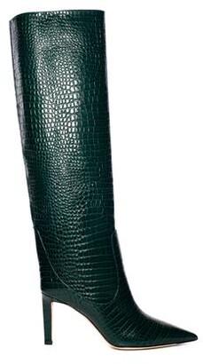 Jimmy Choo Mavis Croc Embossed Tall Boot