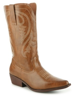 Celebrity Pink Dusty Wide Calf Cowboy Boot