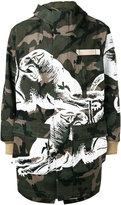 Valentino camouflage coat - men - Cotton - 50