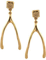 Belle Noel by Kim Kardashian Molten Wishbone Earrings
