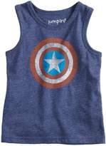 Baby Boy Jumping Beans Marvel Captain America Logo Tank Top
