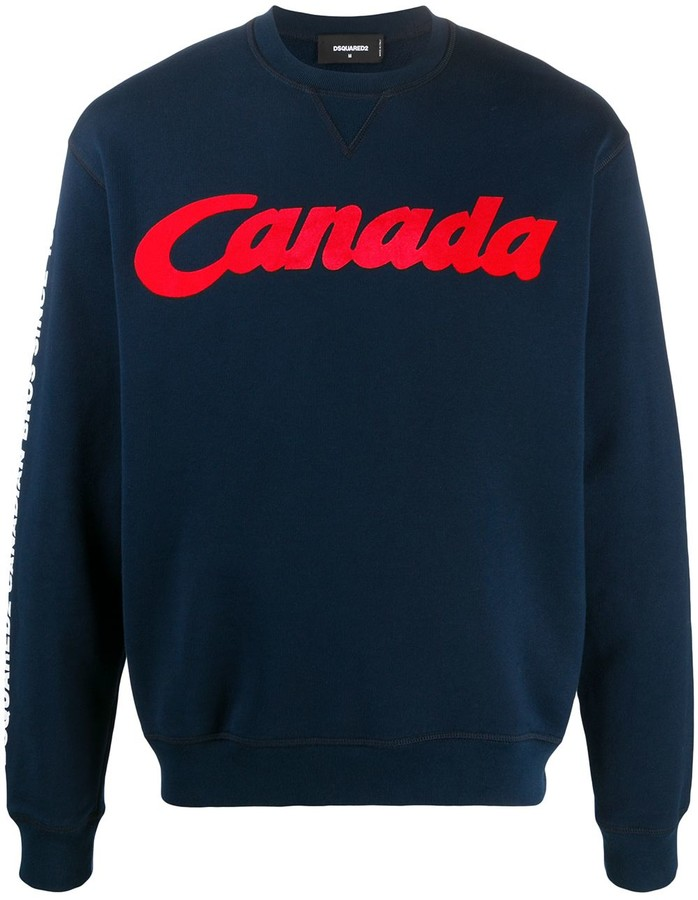 DSQUARED2 'Canada'-print sweatshirt