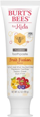 Burt's Bees Oral Care for Kids Toothpaste - Fruit Fusion