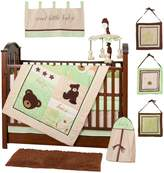 Pam Grace Creations Baby Bear 10 Piece Bedding Set