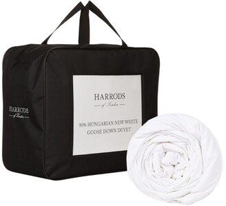 Harrods Emperor 90% Hungarian New White Goose Down Duvet (2.5 Tog)