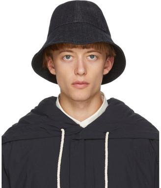Jil Sander Indigo Denim Hat