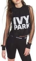 Ivy Park R) Festival Tulle Crop Top
