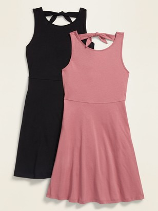 Old Navy Tie-Back Sleeveless Dress 2-Pack for Girls