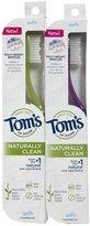 Tom's of Maine Toothbrush, Soft - 2 pk