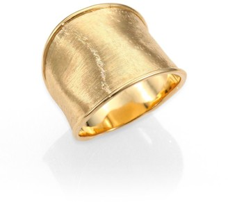 Marco Bicego Lunaria 18K Yellow Gold Medium Band Ring