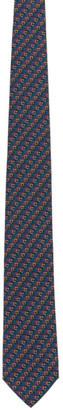 Salvatore Ferragamo Multicolor Silk Print Tie