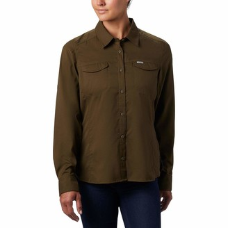 Columbia Women's Silver Ridge Lite Long Sleeve Shirt UV Sun Protection