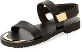 Giuseppe Zanotti Men's Open Toe Leather Sandals