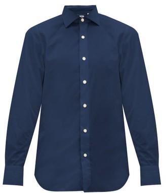 Finamore 1925 - Seattle Slim-fit Cotton Shirt - Mens - Navy