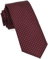 The Tie Bar Wine Mini Dots Tie