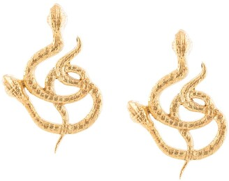 Natia X Lako Twisted Snakes earrings