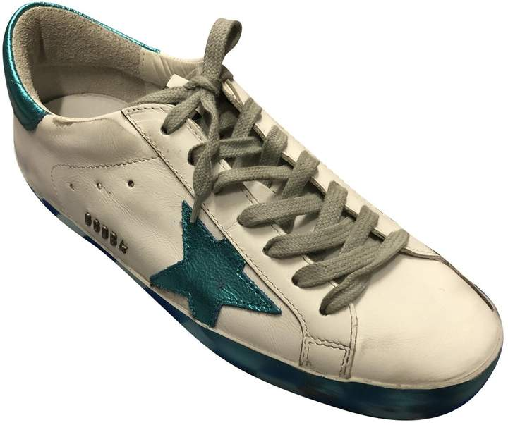 Golden Goose Leather low trainers