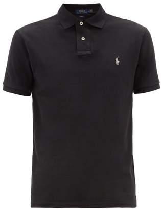 Polo Ralph Lauren Slim-fit Cotton Polo Shirt - Mens - Black