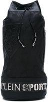 Plein Sport - tiger drawstring backpack - men - Nylon/Polyester/Polyurethane - One Size