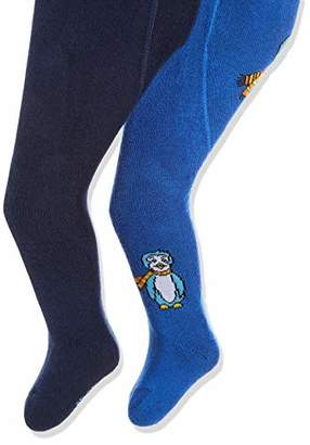 Playshoes Baby Thermo-Strumpfhosen Pinguin mit Konfortbund Tights,74/80 (Pack of 2)