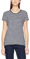 Tommy Hilfiger Women's Thdw Basic Stripe Cn Knit S/s 15 T-Shirt