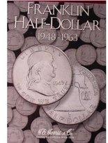 Harris Franklin Half Dollar 1948-1963 Coin Folder 2695