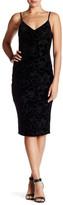 Jessica Simpson Velvet Flower Slip Dress