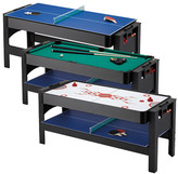 GLD Products Fat Cat Triple Threat 6' 3 in 1 Flip & Accessories Table